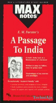Passage to India, a (Maxnotes Literature Guides)(Paperback)