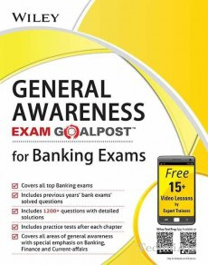 Wiley's General Awareness, Exam Goalpost, for Banking Exams(Paperback)