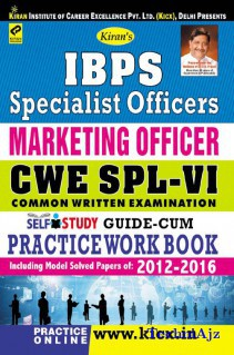 Kiran s IBPS Specialist Officers Marketing Officer CWE SPL VI Self study guide cum practice work Book English(Paperback)