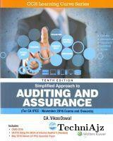 Simplified Approach to Auditing and Assurance- CA- IPCC(Paperback)