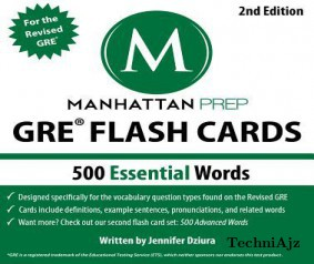 500 Essential Words: GRE Vocabulary Flash Cards, 2nd Edition(Paperback)