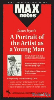 Portrait of the Artist as a Young Man, a (Maxnotes Literature Guides)(Paperback)