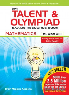 BMA's Talent & Olympiad Exams Resource Book for class- 8 (Mathematics)(Paperback)