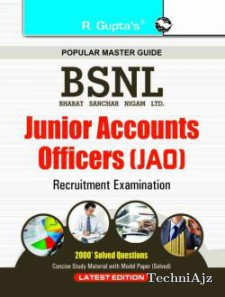 BSNL JAO (Jr Accounts Officer) Exam Guide  (English, Paperback) RPH Editorial Board