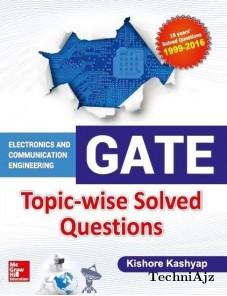 GATE ECE Topic- wise Solved Questions(Paperback)
