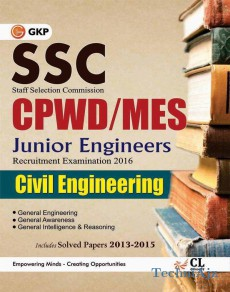 SSC CPWD- - MES Civil Engineering (Junior Engg. Recruitment Exam) Includes Solved Paper 2013- 2015(Paperback)