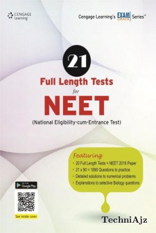 21 Full Length Tests For Neet(Paperback)
