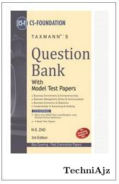Question Bank With Model Test Paper (cs- Foundation)(Paperback)