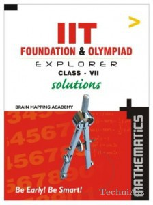 IIT Foundation- Maths- Solutions- Class- 7(Paperback)