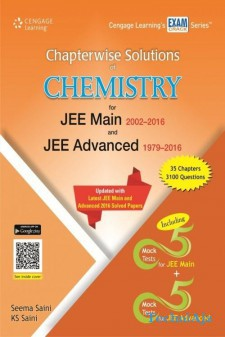 Chapterwise Solutions of Chemistry for JEE Main 2002- 2016 and JEE Advanced 1979- 2016(Paperback)