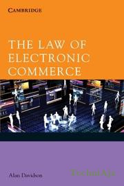 The Law Of Electronic Commerce(Paperback)