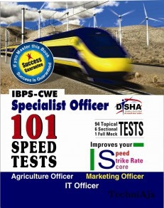 IBPS- CWE Specialist Officer 101 Speed Tests- Agriculture/ Marketing/ IT(Paperback)
