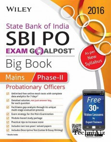 Wiley's State Bank of India Probationary Officer (SBI PO) Exam Goalpost Big Book: Mains, Phase- II(Paperback)