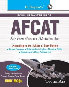 AFCAT (Air Force Common Admission Test) Exam Guide (enlarged)(Paperback)