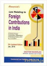 Law Relating to Foreign Contribution in India(Hardcover)