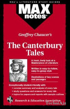 Canterbury Tales, the (Maxnotes Literature Guides)(Paperback)
