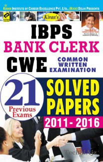 Kiran's IBPS Bank k CWE Solved Papers 21 Previous Exams(Paperback)