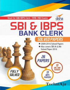 SBI & IBPS Bank Clerk Solved Papers- 26 papers(Paperback)