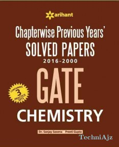 Chapterwise GATE Chemistry Solved Papers(2016- 2000)(Paperback)