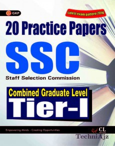 Ssc Combined Graduate Level Tier I 20 Practice Papers(Paperback)