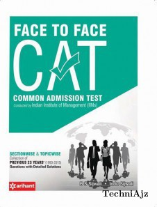 Face To Face CAT Common Admission Test(Paperback)
