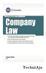 Company Law - CS Executive Programme(Paperback)