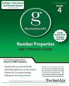 Number Properties GRE Strategy Guide(Paperback)