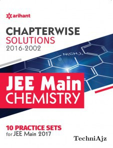 Chapterwise Solutions JEE Main Chemistry (2016- 2002)(Paperback)