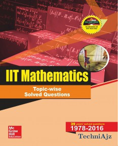 IIT Mathematics Topic- wise Solved Questions(Paperback)