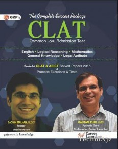 Clat(Common Law Admission Test) With Solved Papers 2015(Paperback)