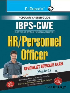 IBPS- Specialist Officers (HR/Personnel Officer) - Scale- I Common Written Exam Guide(Paperback)