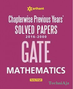 Chapterwise GATE Mathematics Solved Papers(2016- 2000)(Paperback)