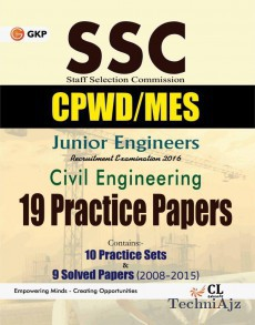Ssc Junior Engineers (cpwd/cwc/mes) Civil Engineering 19 Practice Sets & 9 Solved Papers 2008- 2015(Paperback)