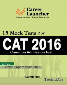 CAT 15 MOCK TESTS (Common Admission Test) Includes Solved Paper 2012- 2015(Paperback)