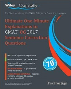 Wiley's Ultimate One- Minute Explanations To Gmat Og 2017 Sentence Correction Questions(Paperback)