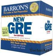 Barron's New GRE Flash Cards, 2nd Edition(Paperback)