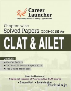 CLAT & AILET CHAPTER- WISE (Solved Papers 2008- 2015)(Paperback)