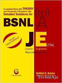 BSNL JE (1ST EDITION) DETAILED SOLUTIONS