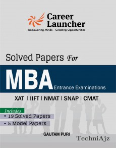 MBA SOLVED PAPERS (XAT, IIFT, SNAP, NMAT, CMAT) Includes 19 Solved Papers & 5 Model Papers(Paperback)