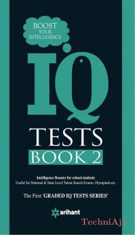 IQ Tests Book- 2- Boost Your Intelligence(Paperback)
