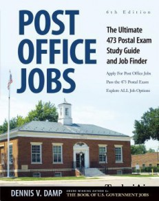Post Office Jobs: The Ultimate 473 Postal Exam Study Guide and Job Finder(Paperback)