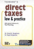 Direct Taxes Law and Practice(Paperback)
