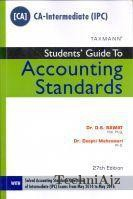 Students Guide to Accounting Standards- CA IPC(Paperback)