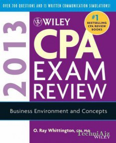 Wiley CPA Exam Review 2013: Business Environment And Concepts(Paperback)