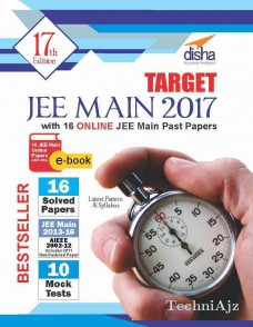 TARGET JEE Main 2017 (15 Solved Papers 2002- 2016+ 10 Mock Tests) with 16 Online JEE Main Past Papers ebook(Paperback)