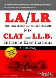 Legal Awareness and Legal Reasoning For the CLAT and LL. B. Entrance Examinations(Paperback)