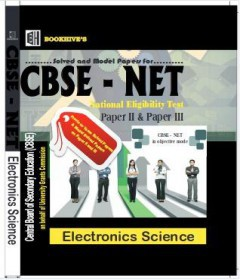 Cbse Net Electronics Sciences Paper(Paperback)