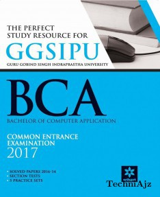 The Perfect Study Resource for- GGSIPU BCA Common Entrance Test 2017(Paperback)
