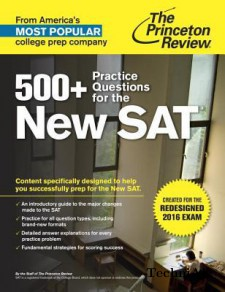 500 Practice Questions for the New SAT(Paperback)