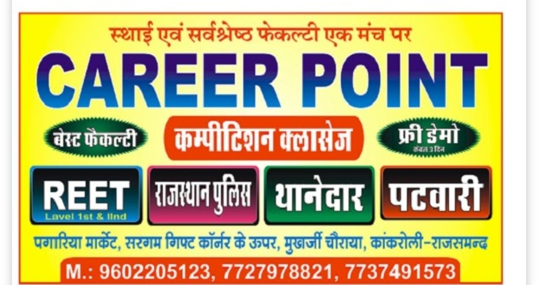 Career Point Coaching Classes